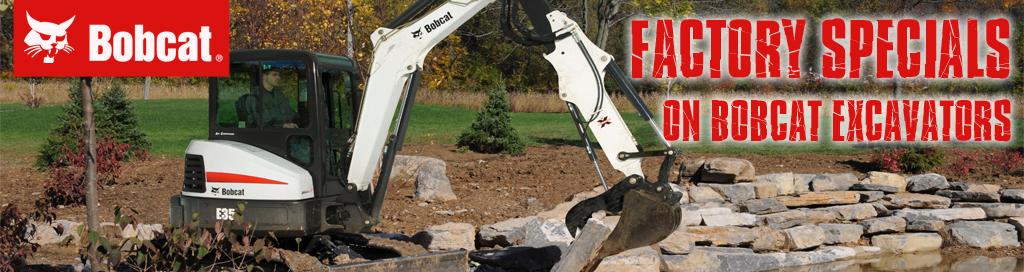 Bobcat Excavators | Bobcat MNX | Excavator for sale