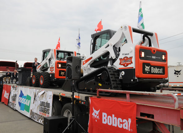 Clark Equipment - Bobcat One-Millionth Loader