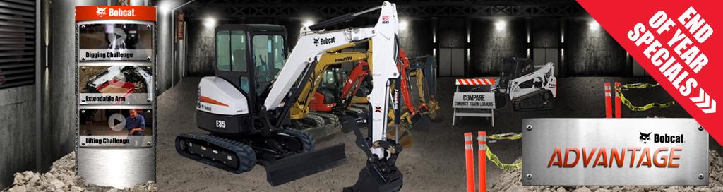 Bobcat Excavator Advantage
