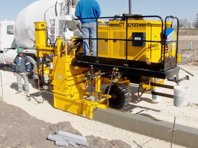 The Gomaco Range Clark Equipment