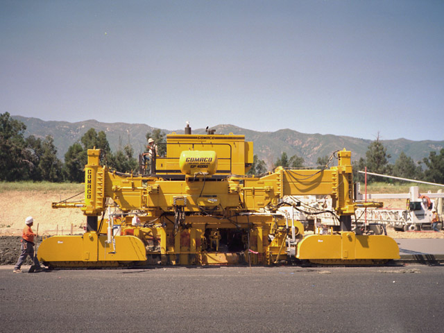 The Gomaco Range Clark Equipment